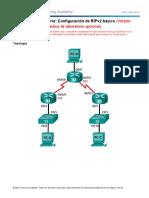 3.2.1.9 Lab - Configuring Basic RIPv2 - ILM XXXX.doc