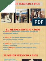 EL MEJOR SERVICIO A DIOS