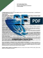 CONTRATO DE COBERTURA FINANCIERA