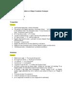 Indirect or Oblique Translation Techniques (EXAMPLES) Bastia, Gabriel