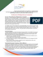 Southeastern Michigan Beacon Community Summary