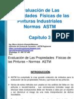 Capitulo 3 -  Evaluación de las Propiedades Físicas de la Película de Pintura