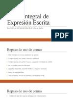 Curso Integral de Expresión Escrita práctica 2