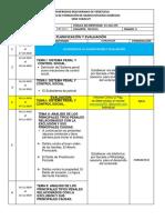 PLANIFICACION  9no Semestre 2020