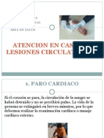 ATENCION EN CASO DE LESIONES CIRCULATORIAS
