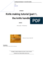 Knife making Part 1