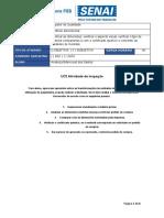 UC3 Atividade de inspeção