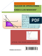 Libro Investig. Operaciones aplicada a los negocios