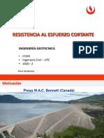 1.1 RESISTENCIA AL ESFUERZO CORTANTE(1)