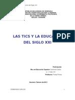Analisis Sobre Las Tics Autor Carmona (2011) Unefa