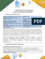 Syllabus del curso Indicadores Sociales