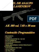 Fusil AK-103 Cal. 7,62x39mm