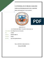 EJERCICIO 2.6 (FACTOR DE RECOBRO Y GRAFICO COLE)