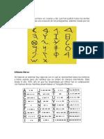 Alfabeto fenicio