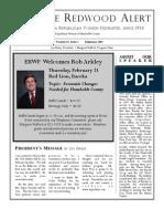HRWF February 2008 Redwood Alert