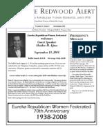 HRWF September 2008 Redwood Alert