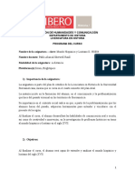 Programa Mundo Hispánico y Lusitano II, para alumnos