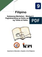 fil9_q2_mod2_-PaghahambingsaEstilosaPagbuongTankaatHaiku_Version2