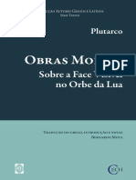 Plutarco - Obras Morais - Sobre a Face Visível no Orbe da Lua