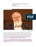 How to Argue With Kindness and Care 4 Rules from Philosopher Daniel Dennett