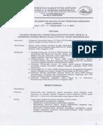 Pejabat Pengelola Teknis Kegiatan (PPTK) RSUD Dr. H. Soemarno Sosroatmodjo Kuala Kapuas 2021