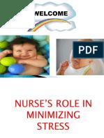 Role of nurse hospitalized child