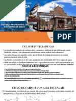 CICLO DE POTENCIA DE GAS