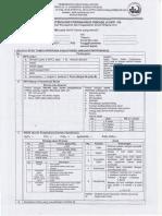 Formulir Deteksi Dini COVID-19