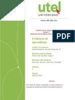 Evidencia Administración de servicios de TI 1P