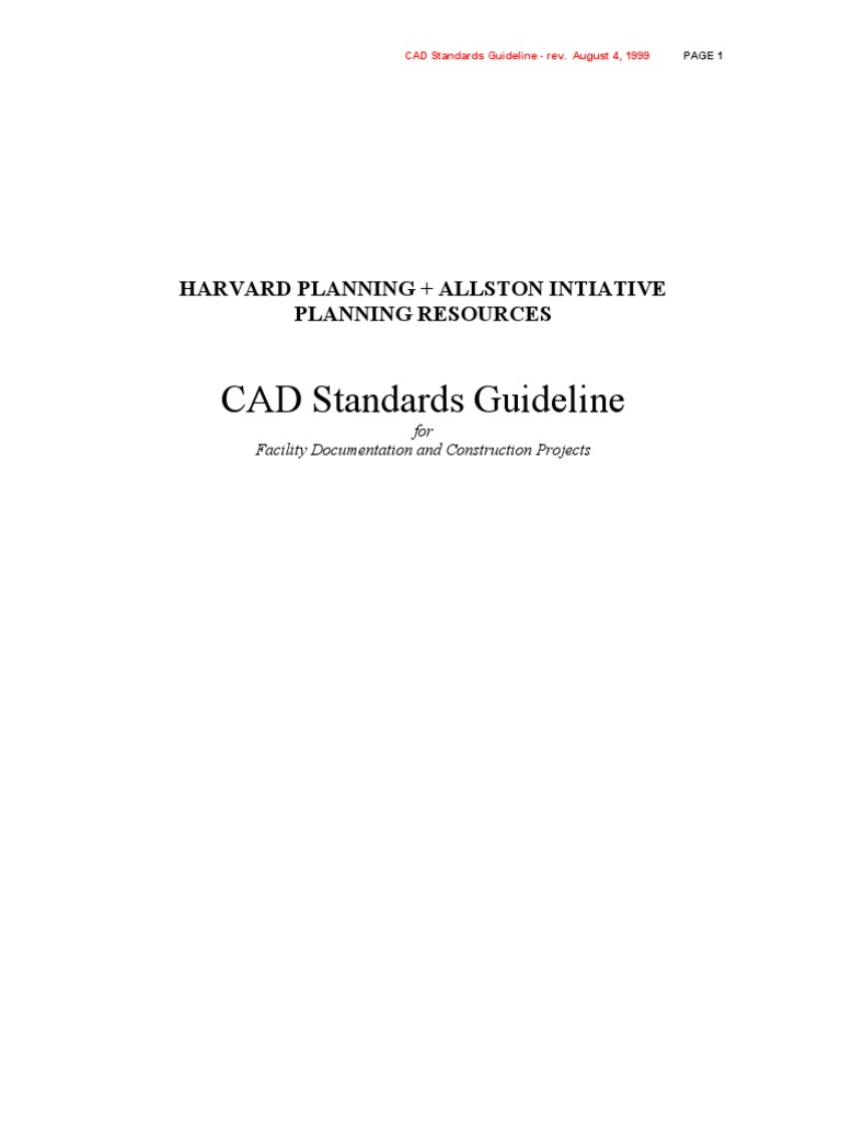 Dwg Standards Auto Cad Hvac Drawing Conventions