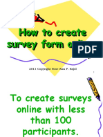Rose Ann_Sajol_How to create  online survey forms