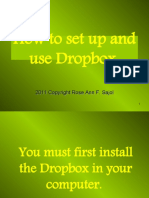 Rose Ann_sajol_How to Use Dropbox