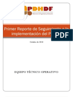 Primer Informe de Seguimiento ETO 081010