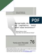 Consultoria do SF - Rafael Silva - Apropriação