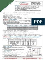 Série d'Exercices 1 , Transformations Rapides Et Transformations Lentes , 2BAC BIOF , SM , PC Et SVT , Pr JENKAL RACHID