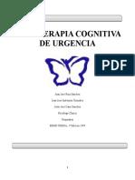 PSICOTERAPIA COGNITIVA DE URGENCIA