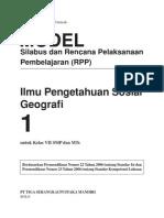Model Silabus RPP Geografi 1