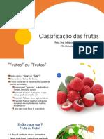 Aula 3.2. classificação dos frutos