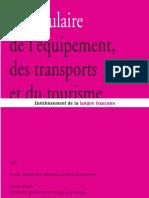 Voca 2007 Equipement Transports Tourisme Def