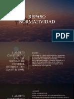 REPASO NORMATIVIDAD