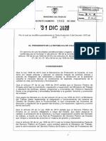 Decreto 1823 Del 31 de Diciembre de 2020