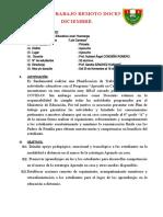 1.- Plan de Trabajo Remoto Docente- Diciembre. Hubbert