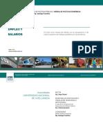 Empleo y Salarios. Informe UNDAV, enero 2021