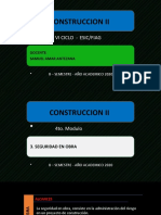 CONSTRUCCION II 4to. Modulo