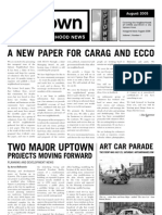 August 2005 Uptown Neighborhood News