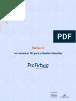 Unidad 3- Herramientas Tic para la Gestión Educativa-