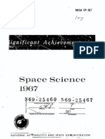 Significant Achievements in Space Science 1967