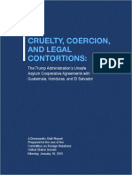 Cruelty, Coercion, And Legal Contortions  (SFRC Democratic Staff Report)