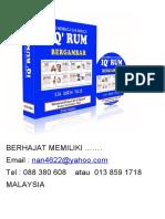 Iq' Rum Bahan Bantu Mengajar Eja Surih Tulis