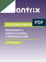 manual robótica 1 primaria Cuantrix